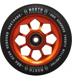 Kolečko North Pentagon 120mm Black/Copper