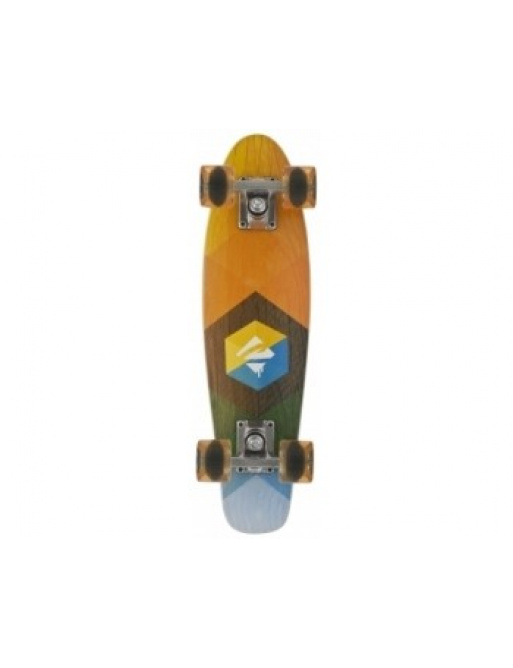 Skateboard Choke Juicy Woody Hexagon