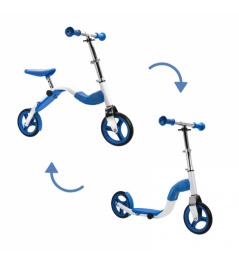 Scoobik koloběžka a odrážedlo v jednom modrý