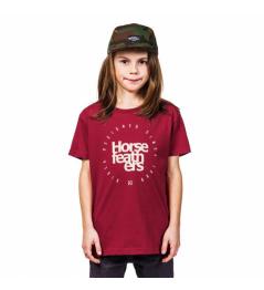 Triko Horsefeathers Denk red 2019 dětské vell.XL