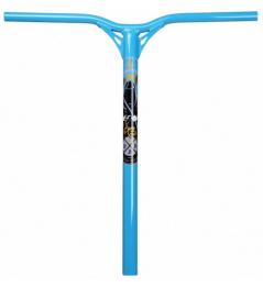 Řídítka Blunt Reaper V2 modrá 600mm