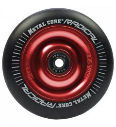 Metal Core Radical 100mm koliesko čierno červenej