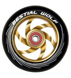 Kolečko Bestial Wolf Twister 110mm žluté
