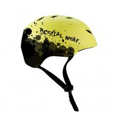 Zelená Bestial Wolf Shell helma