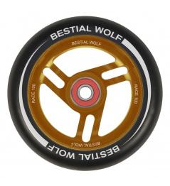 Bestial Wolf Race 100 mm kolečko černo oranžové