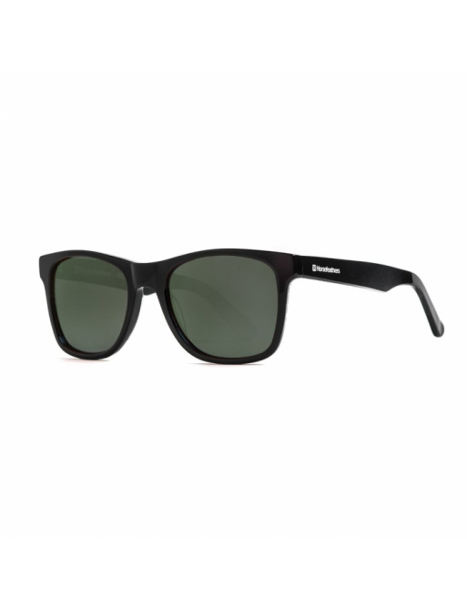Brýle Horsefeathers Foster - gloss black/gray green 2021