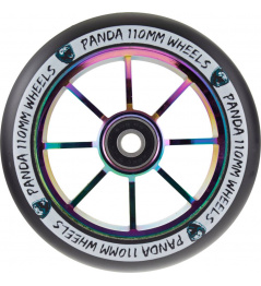 Kolečko Panda Spoked V2 110mm Rainbow