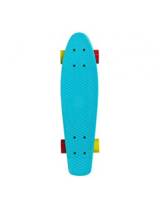 Skateboard Playlife Vinyl Board, světle modrá