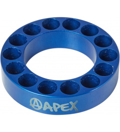 Headset spacer Apex 10mm modrý