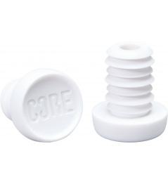 Koncovky Core bílé