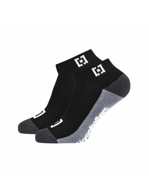 Ponožky Horsefeathers Colton black 2021 vell.41-44