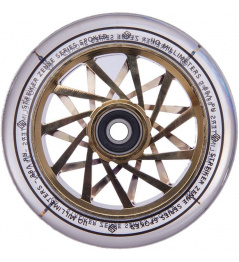 Kolečko Striker Zenue Series Clear 110mm Gold Chrome
