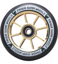 Kolečko Panda Spoked V2 110mm Gold Chrome