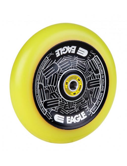 Kolečko Eagle Standard Hollowtech 115mm Black/Yellow
