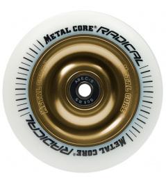 Metal Core Radical 110 mm koliesko bielo zlaté