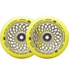Kolečka Root Lotus 110x24mm Radiant Yellow 2ks