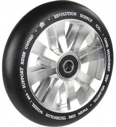 Kolečko Revolution Supply Twin Core 110mm stříbrné