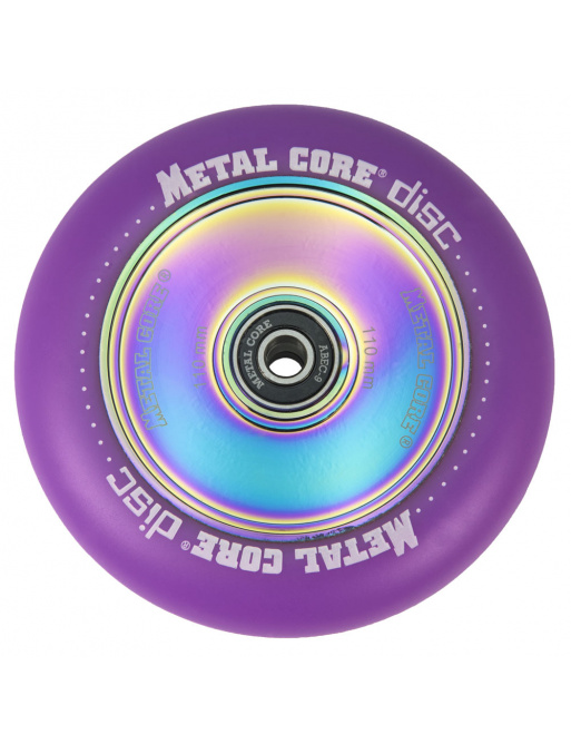 Metal Core Disc 110 mm koliesko fialové