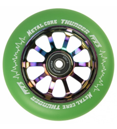 Koliesko Metal Core Thunder Rainbow 110 mm zelené