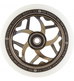 Kolečko Striker Essence V3 White 110mm Metallic Black