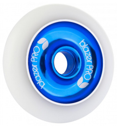 Kolečko Blazer Pro Aluminium Core 100mm White/Blue