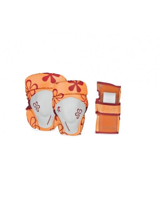 Chrániče Powerslide Standard Kids Basic Orange (sada)
