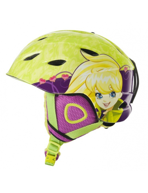 Zimní helma Polly Pocket