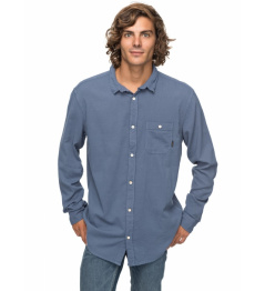 Košile Quiksilver New Time Box 633 byl0 vintage indigo 2018 vell.XL