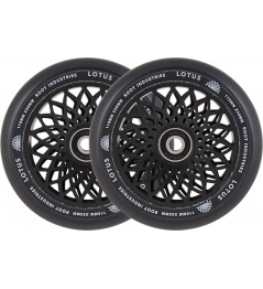 Kolečka Root Industries Lotus 110x30mm černé 2ks