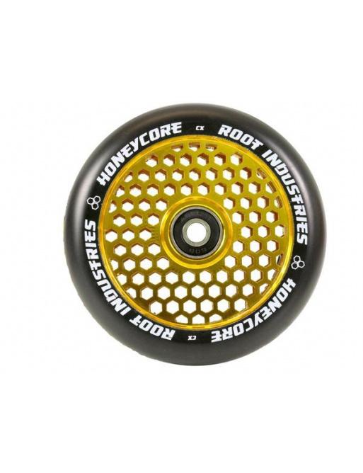 Koliesko Root Industries Honey 120mm čierno zlaté