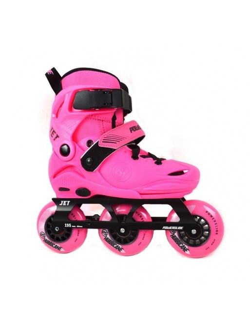 Detské kolieskové korčule Powerslide Jet Neon Pink