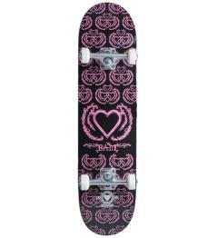 "Skateboard Heart Supply Bam 8"" United Black Purple"