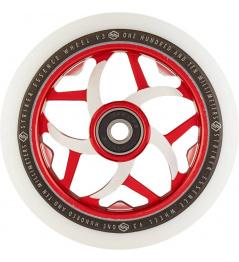 Kolečko Striker Essence V3 White 110mm červené