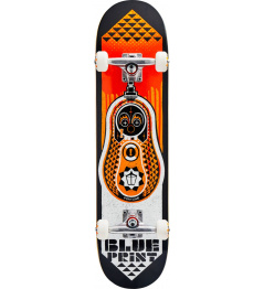 "Skateboard Blueprint Babushka V2 7.75"" Orange"