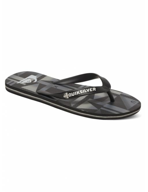 Žabky Quiksilver Molokai Flip Flops black/grey/black 2017 vell.EUR41
