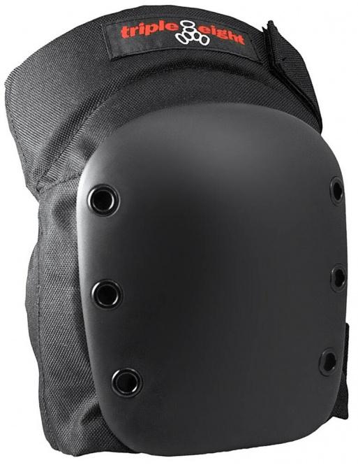 Chrániče Triple Eight Street Skate Knee Pads L černé