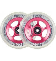 Kolečka Proto Plasma 110mm Neon Pink 2ks
