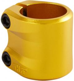 Tilt Sculpted zlatá objímka