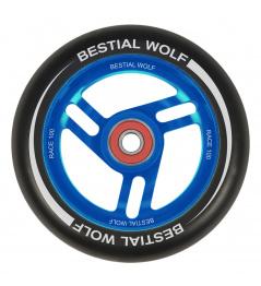 Bestial Wolf Race 100 mm koliesko čierno modré