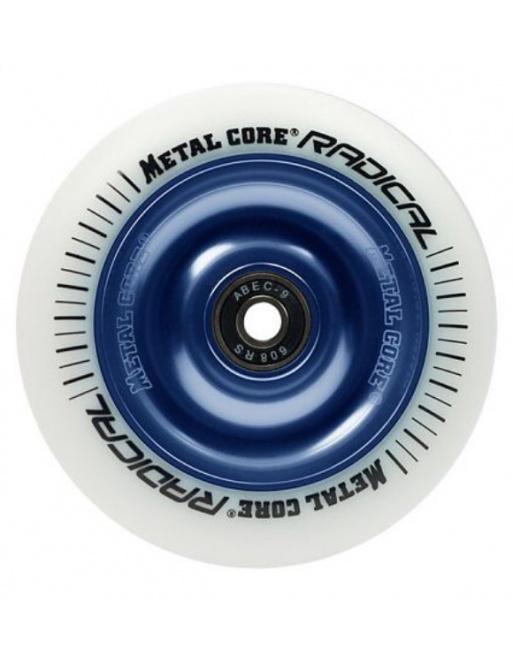 Metal Core Radical 110 mm koliesko bielo modré