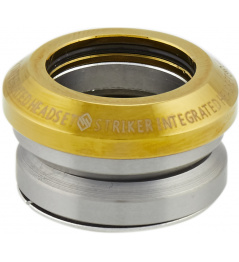 Headset Striker Integrated Gold Chrome