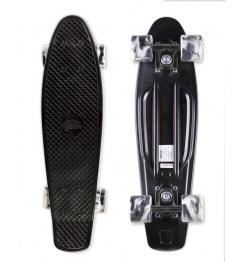 Skateboard Street Surfing BEACH BOARD Wipe Out, čierny