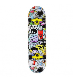 SKATEBOARD NILS EXTREME CR 3108 SA POP ART