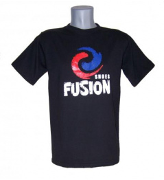 Fusion tričko černé