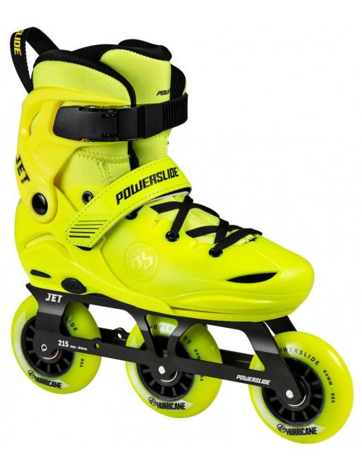 Detské kolieskové korčule Powerslide Jet Neon Yellow