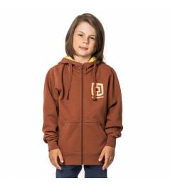 Mikina Horsefeathers Mini Logo copper 2019 dětská vell.L