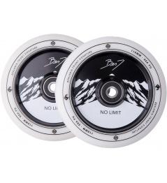 Kolečka Striker Benj No Limit 110mm White/Black 2ks