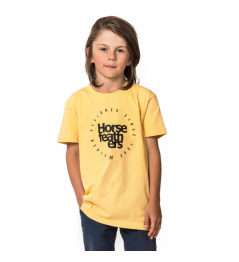 Triko Horsefeathers Denk buff yellow 2019 dětské vell.XL