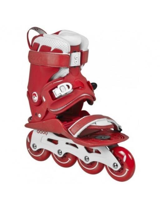 Kolieskové korčule Powerslide Doop Classic Red