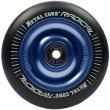Metal Core Radical 100mm koliesko čierno modré